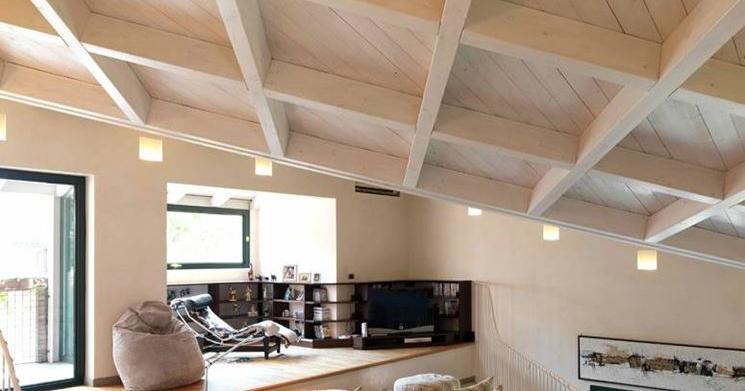 Edilizia tradizionale for Soppalco in legno lamellare